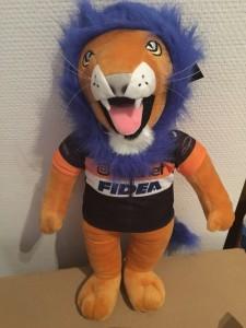 Mascotte Telenet Fidea Lions